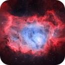 M8 - The Lagoon Nebula (HOO),                                blastrophoto