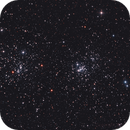 NGC869/NGC884/Caldwell 14 The Double Cluster in Perseus,                                Serge Caballero