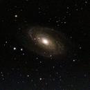 M81 Bode's Nebulae With an ASI224MC,                                John Richards