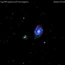 ngc 3893--3896   galassie nel carro maggiore,                                Carlo Colombo