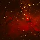 Eagle Nebula M-16,                                Cy Borg