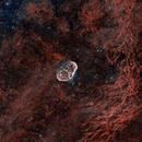 NGC 6888 - Continued 1800 sec sub testing (REV A) & Bicolour sample (REV B),                                Paddy Gilliland