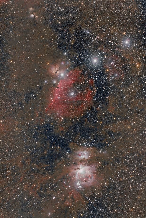 Orion Belt with Redcat 51 from  South Texas,                                Philippe Renaud