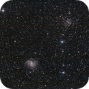 NGC 6946 GX Cep, NGC 6939 OC u. UGC 11583,                                Hans-Friedrich Tr...