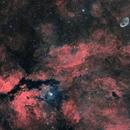Cygnus Mosaic HaRGB,                                lizarranet