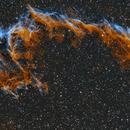 Eastern Veil NGC 6992 H,OH,O 6 pane mosaic.,                                  Pat Rodgers
