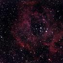 NGC2244 Nébuleuse de la Rosette,                                  mathianne