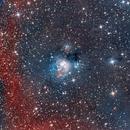 LRGB NGC 7129-7142 2-Panel Mosaic.,                                Chris