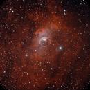 The Bubble Nebula - HaOIII,                                Adam Jaffe