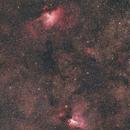 M16-M17 wide field,                                Elio - fotodistel...