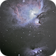 M42, M43, NGC 1975 and NGC 1977 in Orion,                                Jesús Piñeiro V.