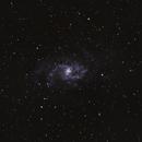 M33 Triangulum Galaxy crop,                                Daniel Pázmán