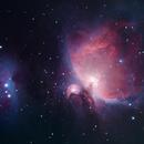 Orion and Running Man nebulae,                                StefanoBertacco