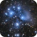 M45 - The Pleiades,                                Nico Carver