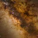 Milky Way Galactic Center Mosaic,                                Roger Clark