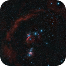 Orion and the great Barnard's loop HaLs_HaR_GB,                                *philippe Gilberton