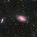 M81 (Bode's Galaxy) and M82 (The Cigar Galaxy) [HaLRGB],                    Rathijit Banerjee