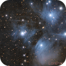 M 45 - The Pleiades,                                Lorenzo Siciliano