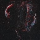 Veil Nebula Complex: 110 Hours, 2 Years, 3 Countries,                                  Steve Milne
