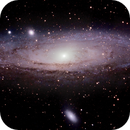 M31  Andromeda - Galaxie,                                Michael Schmid
