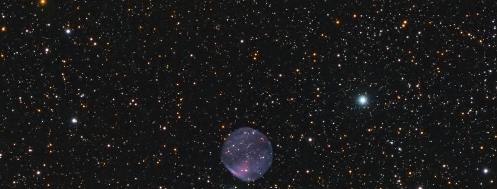 Ferrero 6 (Fe 6) PN G129.6 +03.4 Planetary Nebula,                                  Jerry Macon