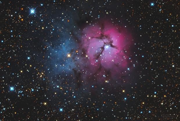 M20 Trifid Nebula,                                Jerry Macon