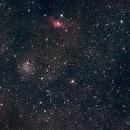 Bubble Nebula & M52 Cluster,                                Stefano Franzoni