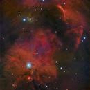 NGC1999 - The Keyhole,                                Jason Guenzel