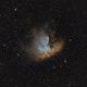 NGC 281 in SHO,                                Mason Guinan