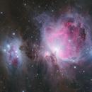 M42 and the Running Man nebula,                                Jari Saukkonen