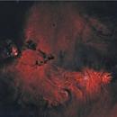 cone nebula NGC2264 & chritsmas tree cluster HaHOO starless.,                                lukfer