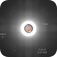 Mars with Phobos and Deimos (animation),                                Dzmitry Kananovich