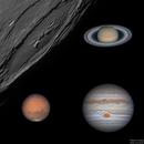 Planets - A 2018 Montage,                                  Jason Guenzel