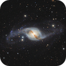 NGC 3718 and Hickson 56.  Galaxy in Ursa Major,                                Vlad Onoprienko