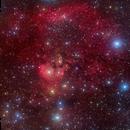 NGC7822 & Sh2-170,                                David Cheng