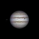 Io, Jupiter and shadow of Callisto (26 feb 2015, 21:45),                                Star Hunter