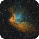 Wizard Nebula NGC7380 data from 2015 and 2020,                                Carastro