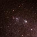 NGC371 and  NGC346 Nebulae in the SMC ,                                Geoff Scott