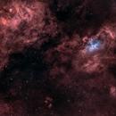 Eagle & NGC6604 in wide field,                                  GregGurdak
