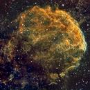 JellyFish Nebula close up  (IC443) in HSO,                                Jose Carballada