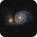 Whirlpool Galaxy (M51),                                Rathi Banerjee