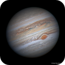 Jupiter - the Oval BA approaches the GRS,                                Niall MacNeill