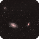 Ursa Major Triplet M81 M82 NGC3077  in L(RHa)GB,                                Jean-François Dou...