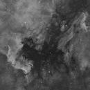 North America & Pelican Nebula (Halpha),                                Mehdi Abed
