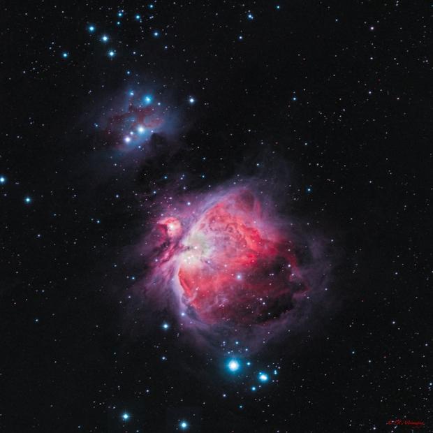 M42 Orion Nebula,                                DustSpeakers