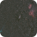 Comet C/2014 Q2 Lovejoy, Double Cluster, Heart and Soul,                                Andrei Prakapovich
