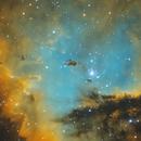 "NGC 281 ""Pacman"" in Hubble-Palette,                                Gottfried Meissner"