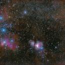 Orion Belt and Sword area,                                  RichR