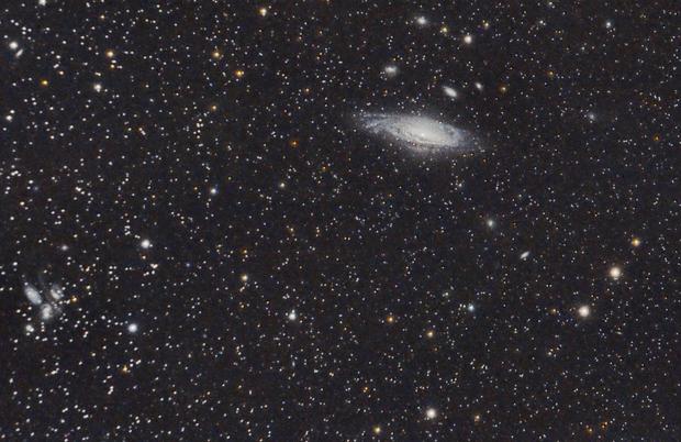 NGC 7331 et Quintette de Stephan,                                Roger Bertuli