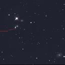 NGC 5353 and Supernova 2019 EIN,                                Matthew Parker